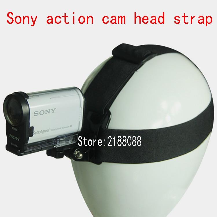 Soporte adaptador de correa de cabeza para Cámara de Acción Sony RX0...
