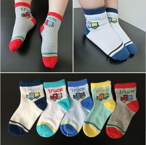 10 couleurs/lot, nouveau style UK   Chaussettes de voiture pour garçons, accessoires de voiture pour enfants de 2-5 ans, vente en gros