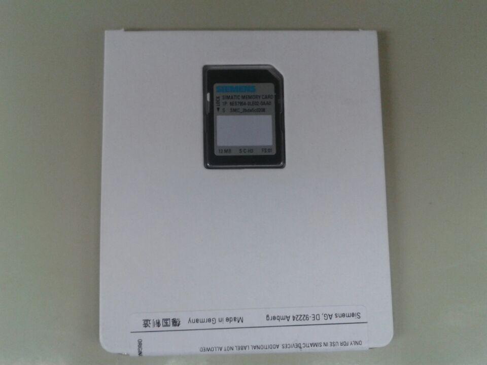 6ES7954-8LE02-0AA0 6ES7 954-8LE02-0AA0 PLC S7-1200 12M بطاقة ، 100% يتن سعر المصنع ، جديد ويكون في الأسهم