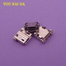 Connecteur de Port de charge pour Samsung Galaxy S4   i9505 i337, Micro, mini prise USB de remplacement 11p, 10 pièces