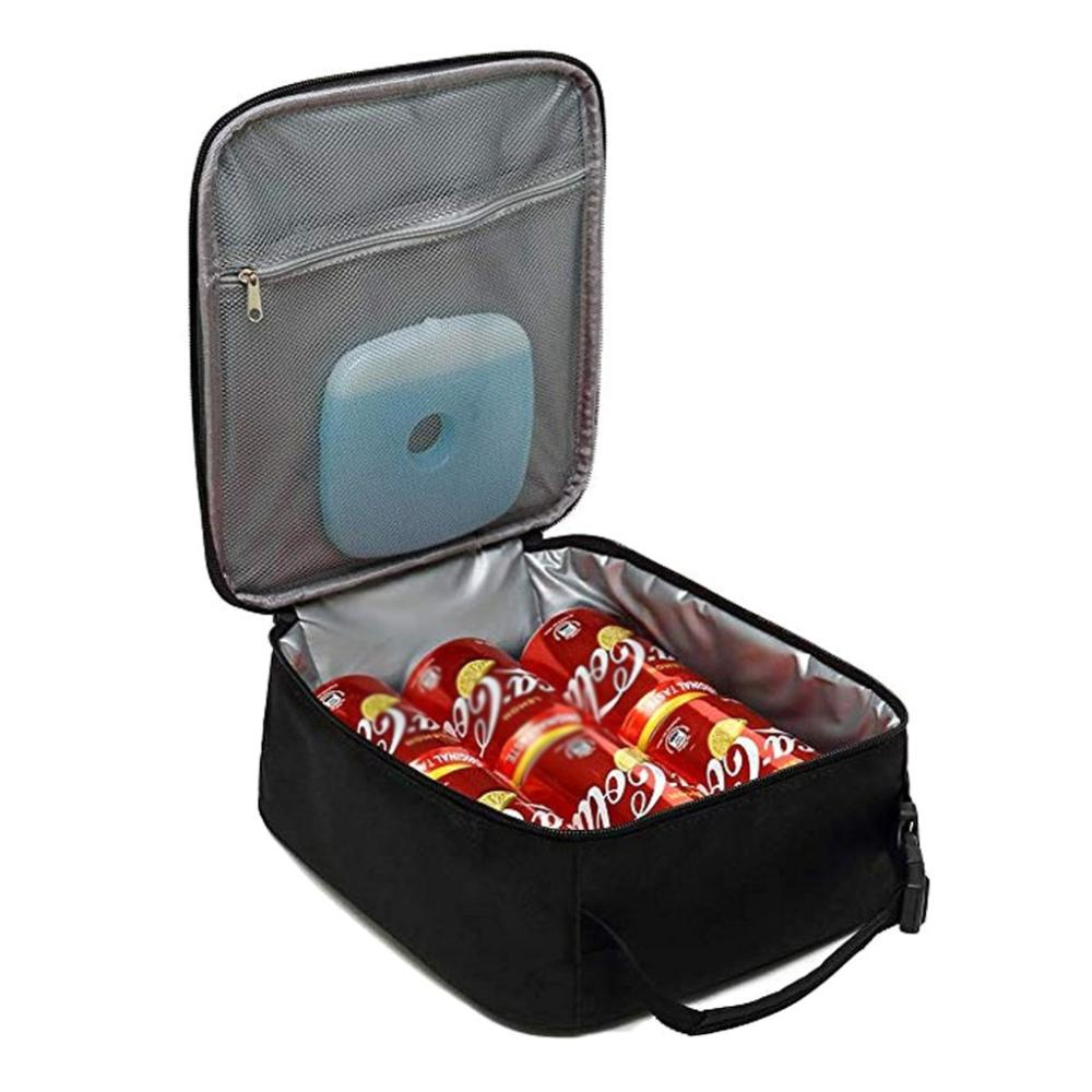 ¡Nuevo! Termo refrigerador, fiambrera térmica, bolsa portátil para comida, bolsa de Picnic, bolsa aislante para el almuerzo, caja de almuerzo al aire libre