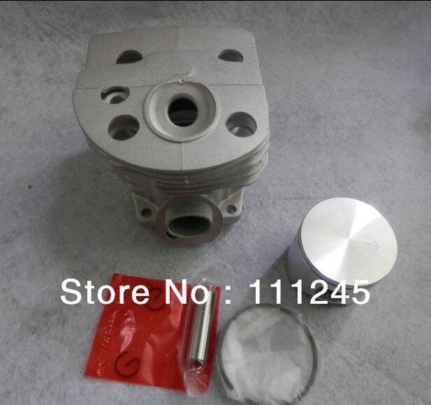 Cilindro ASSY 46 MM para motosierra 55 motor libre franqueo barato cadena Sierra ZYLINDER pistón KIT piezas REPL. P/N 503 16 91 71