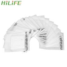 HILIFE café café filtres papier thé sac crépine suspendus oreille Style vert thé infuseur goutte à goutte café filtre sac 50 pièces/sac