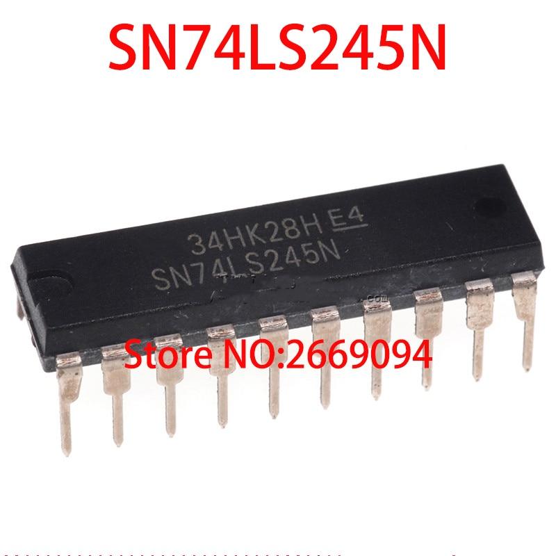 5 piezas/10 piezas/50 piezas/100 piezas SN74LS245N DIP20 SN74LS245 DIP 74LS245N DIP-20 74LS245 HD74LS245P nuevo y original IC