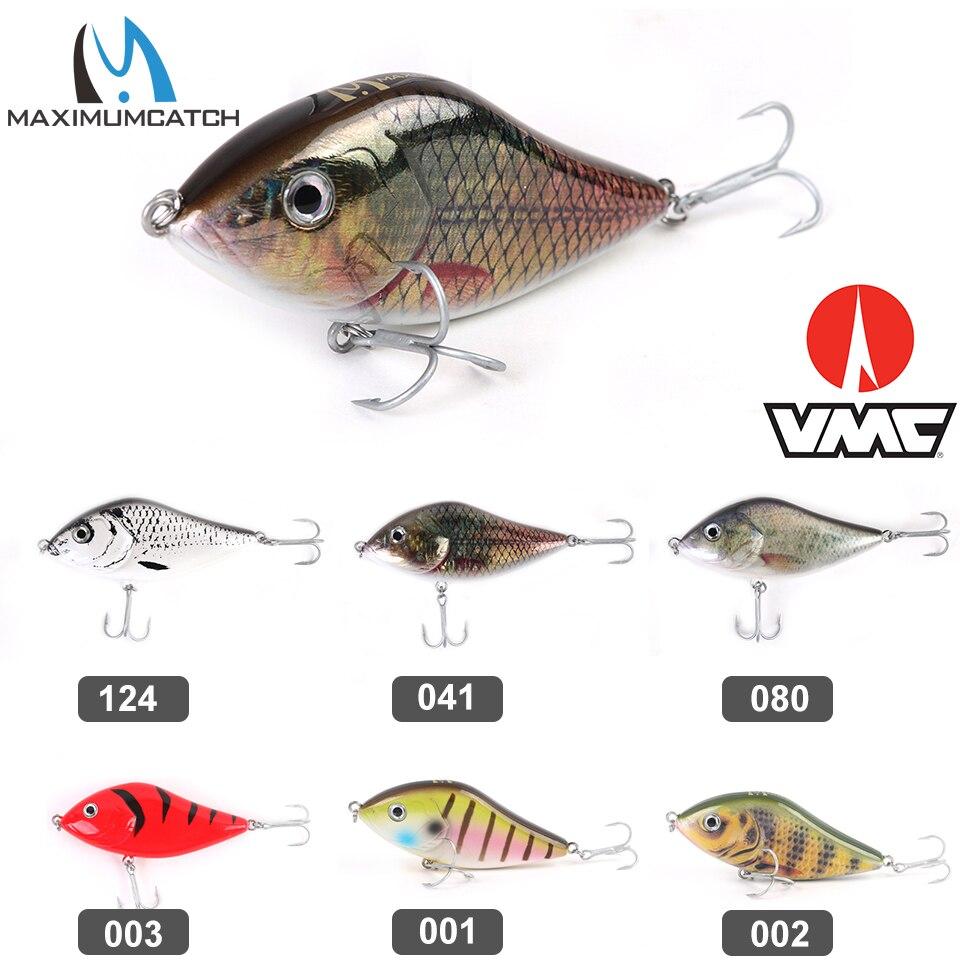 Приманка для рыбалки Maximumcatch Jerkbait, щука, 47 г 100 мм, с крючком VMC, приманка для рыбалки с жесткими басами, щука