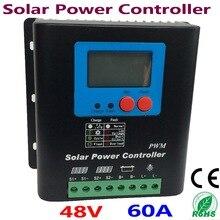 60A contrôleur solaire PV panneau batterie contrôleur de Charge 48 V système solaire maison utilisation intérieure solaire