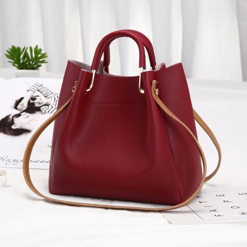 NEW 2019 Women Handbag Shoulder Bag Tote Purse Fashion Leather Women Ladies Messenger Hobo