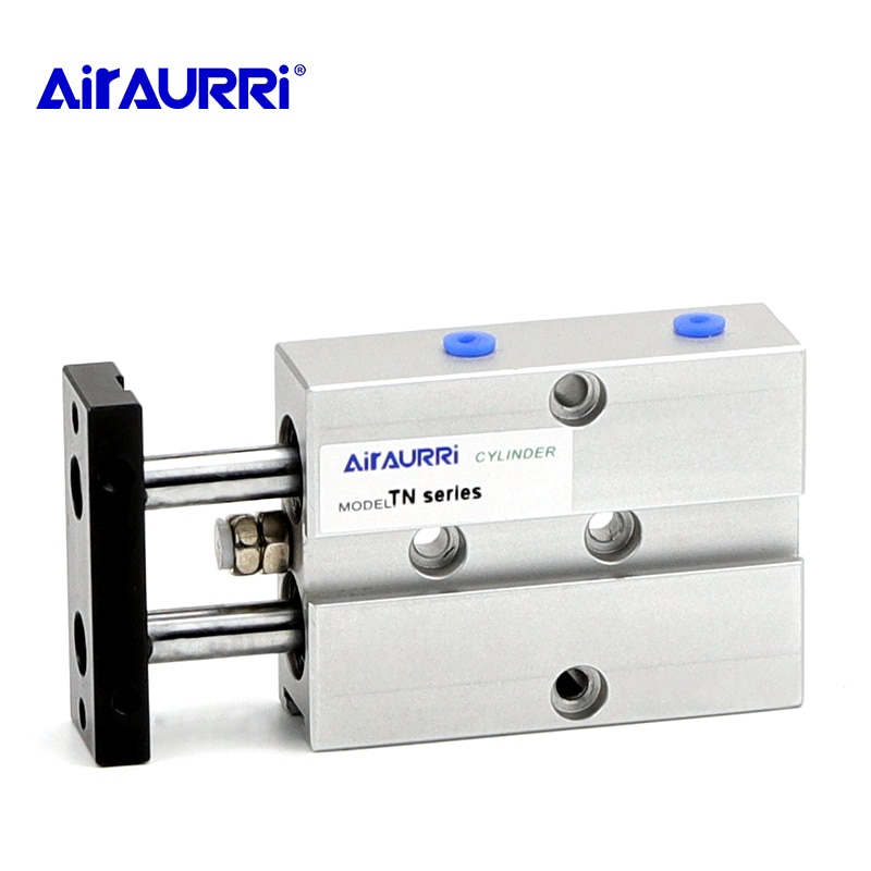 Фото - Aluminum Alloy TN Type Pneumatic Cylinder 10mm 16mm 20mm 25 mm Bore 10/15/20/25/30/35/40/45/50/60/70mm Stroke Air Cylinder air cylinder sda series male thread pneumatic compact airtac type 16 20 25 32 40 50 63mm bore to 5 10 15 20 25 30 35 40 45 50mm