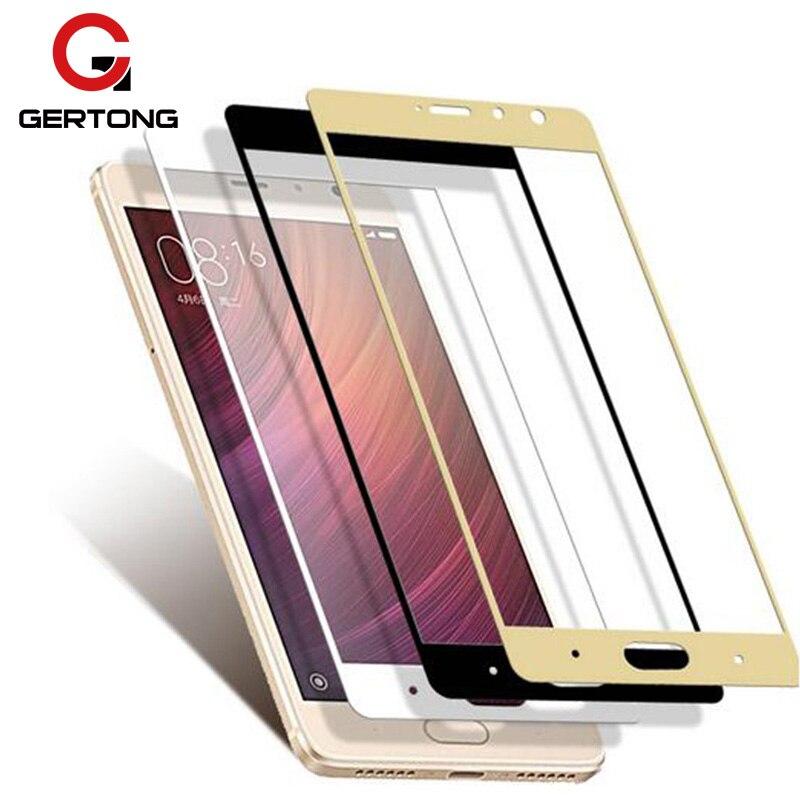 GerTong Full Cover Tempered Glass For Xiaomi Redmi 6 4 Pro 4A Note 4 Global Version Note 4X 5 Plus Mi5X Mi A1 Note 3 Pro Mi8 SE