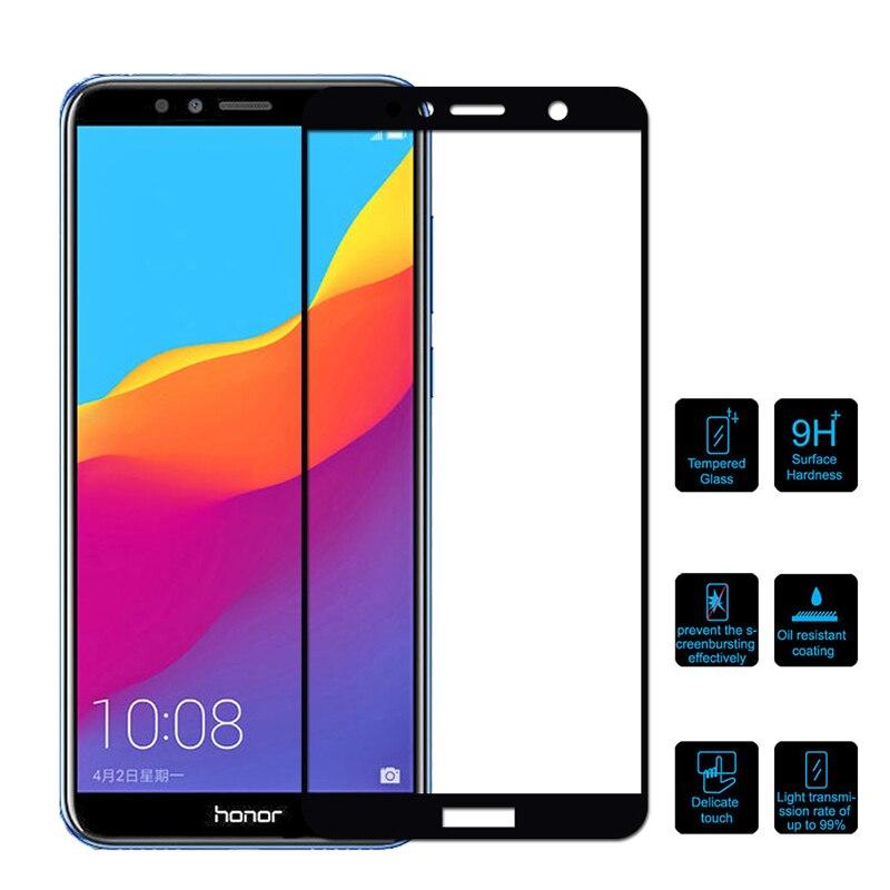 Защитное стекло для Honor 7A 7C Pro 7X, защита для экрана, полное покрытие, закаленное стекло wuwawi huawey huavei honer 7 honor7 a c x