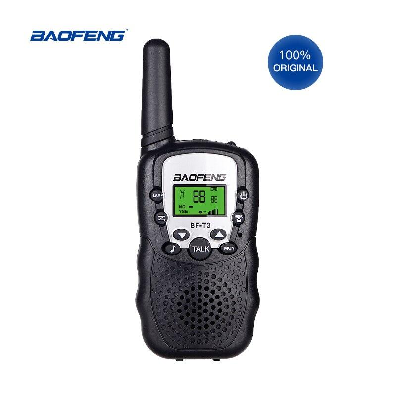 Baofeng BF-T3 Mini Portable Walkie Talkie Outdoor Kids Interphones 0.5W 8/22CH Handheld PMR/FRS/GMR Radio Transceiver enlarge