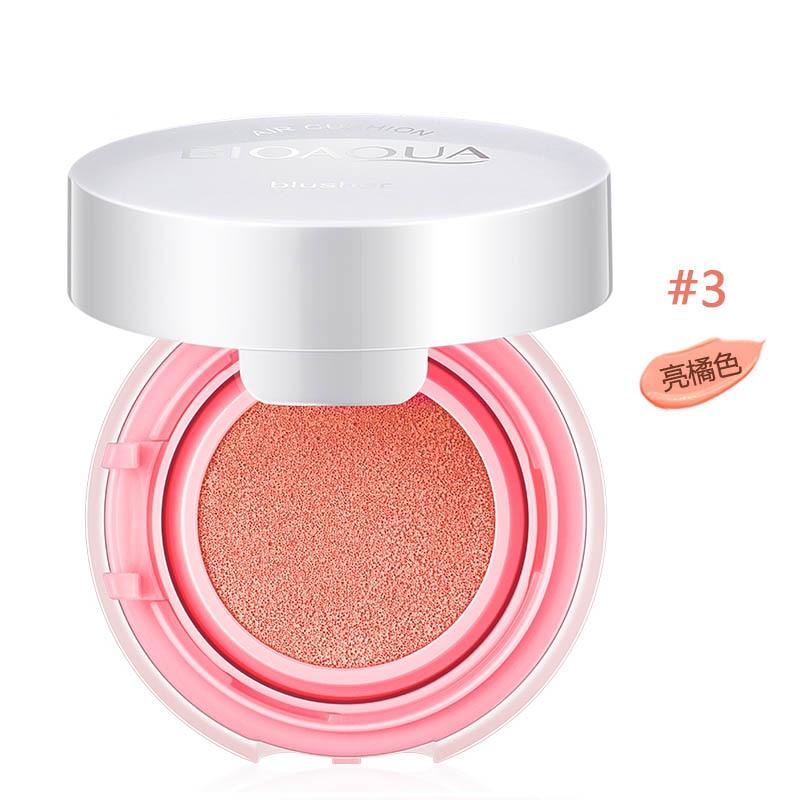 1 Uds Air Cushion Blush Bronzer maquillaje Mineralize rubor de mejilla cosméticos elegantes polvo suave maquillaje Complexion Maquiagem