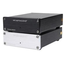 Nfj & fxaudio box01 lp vinil record player mini mm phono preamp amplificador de áudio