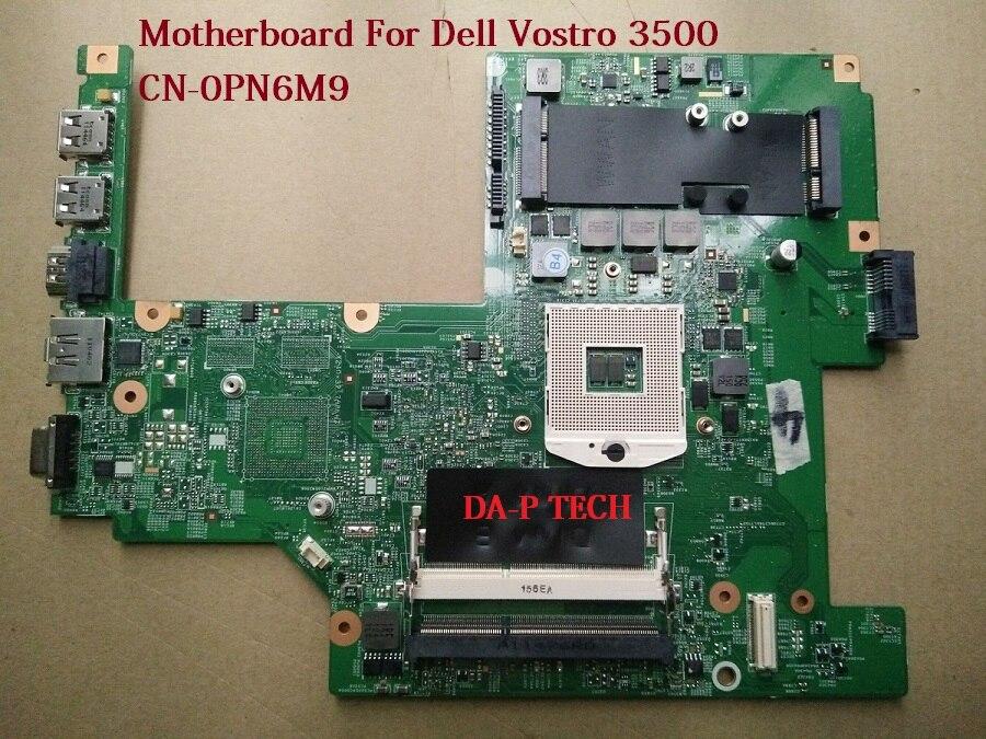 Ordenador portátil placa base para Dell Vostro 3500 V3500 PN6M9 0PN6M9 CN-0PN6M9 55.4ET101 001 100% totalmente