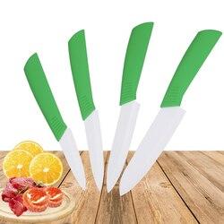 """Zircônia cerâmica faca 3 """"aparar 4"""" utilitário 5 """"corte 6"""" faca do chef lâmina branca facas de cozinha ferramentas de cozinha de cerâmica"""
