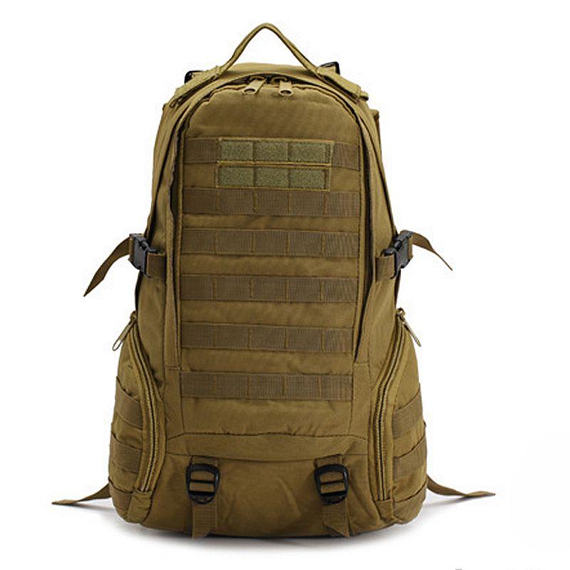 Mochila militar, mochila de asalto táctico, mochila del ejército, bolsa para exteriores, senderismo, Camping, caza, senderismo, bolsa de viaje, Camuflaje