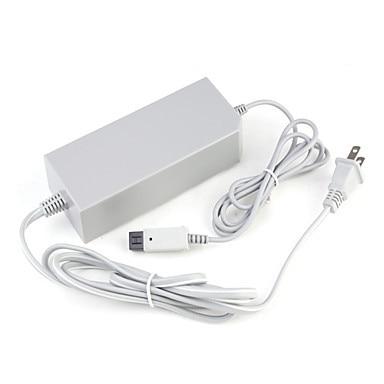 Enchufe de EE. UU./UE 100-240 V DC 12 V 3.7A Home pared fuente de alimentación AC cargador adaptador de Cable adaptador para Nintend consola de juegos Wii anfitrión
