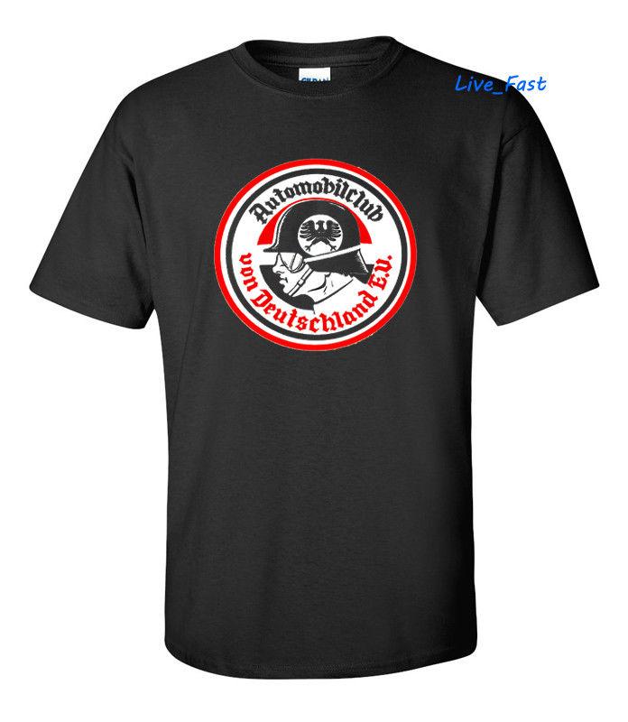 Ropa de marca 2019 para hombres, Top Automobilclub Von Deutschland E. U. T camisa Vintage Retro Hot Rod Rodder rata Finkt-camisa