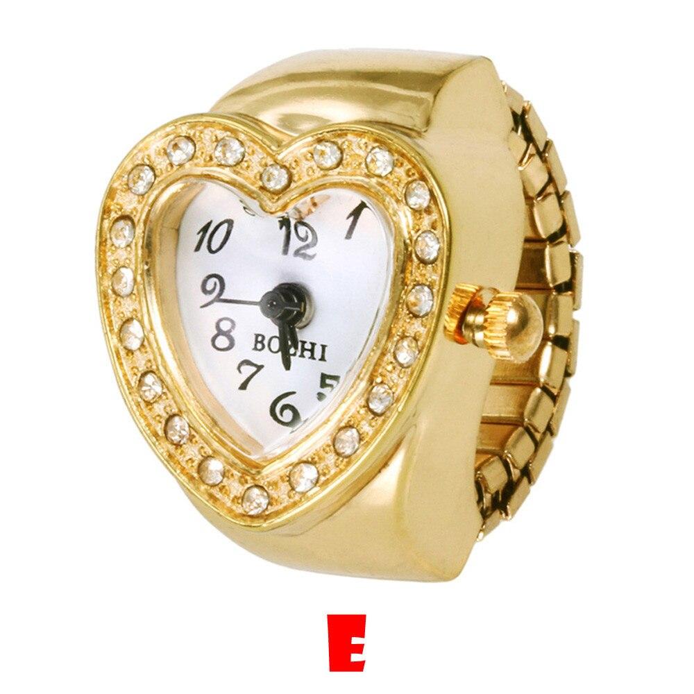 Reloj de lujo para mujer, famosa marca 2019, reloj analógico de cuarzo, creativo, de acero, moderno, elástico, cuarzo, reloj de anillo de dedo, reloj