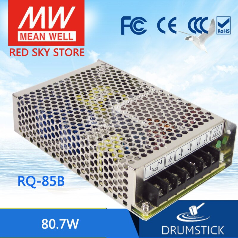 advantages mean well cen 75 15 15v 5a meanwell cen 75 15v 75w single output led power supply prosperity MEAN WELL RQ-85B meanwell RQ-85 80.7W Quad Output Switching Power Supply