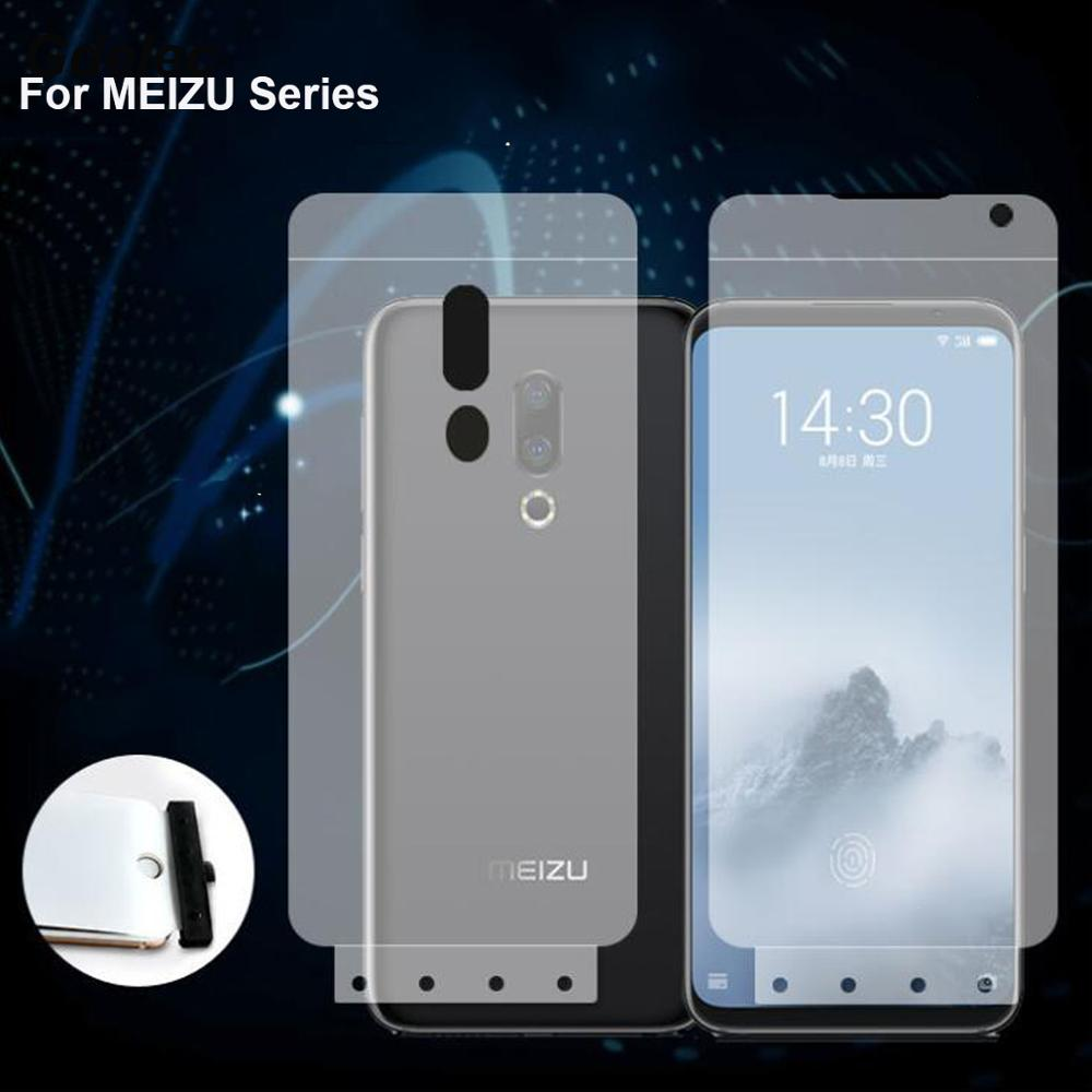 6D мягкая Гидрогелевая пленка для MEIZU note 9 16s 16 plus 16x15 plus Pro 7 Plus X8 M6 Note, защита экрана из ТПУ, нано-пленка, не стекло