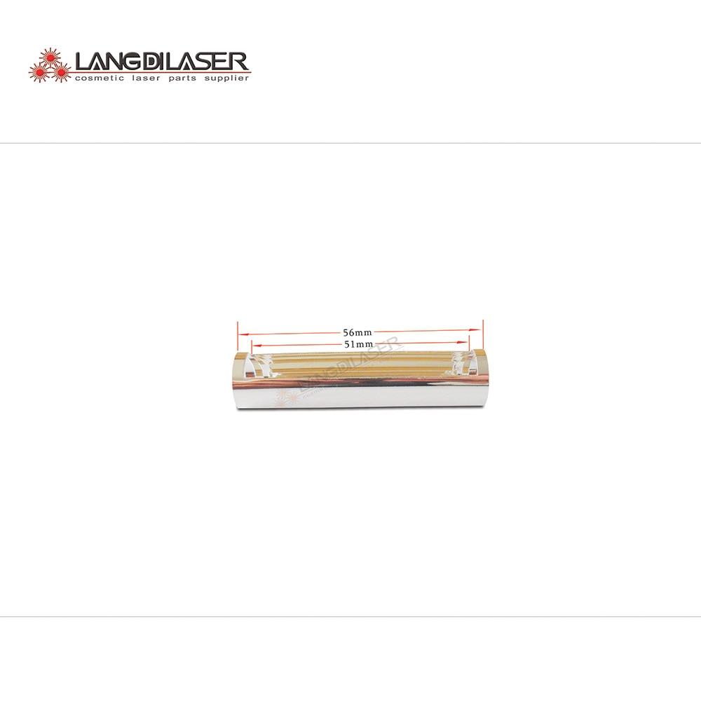 Reflector de mango IPL (pedido de 50 piezas)/tamaño D13mm * 56mm, piezas reflectantes de mango IPL, reflector de pieza de mano e-light
