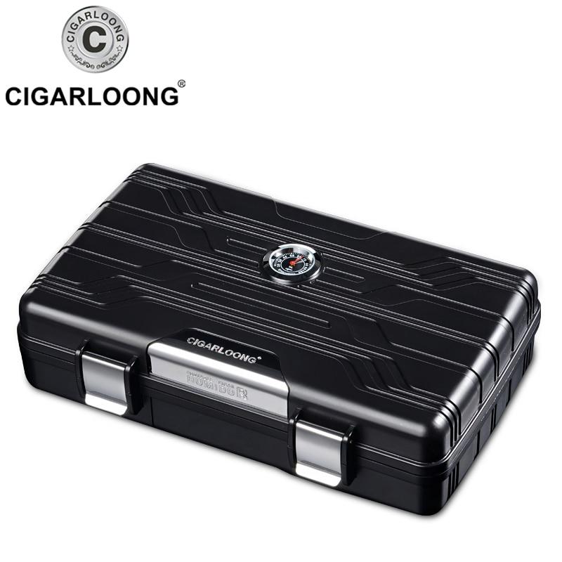 Горячая продажа сигары гумидор супер легкий гаджет Путешествия Портативный ящик для сигар Подарочная коробка CH-3001
