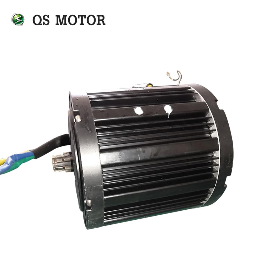 QS MOTOR 138 3000W Mid drive motor with sprocket 428 and votol EM150SP controller for electric motorbike Z6 100KPH 72V enlarge