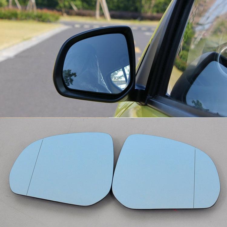 Para Suzuki alto Hipérbola Coche Espejo Retrovisor Gran Angular Azul Espejo Flecha DEL LED Luces de Señal de Giro
