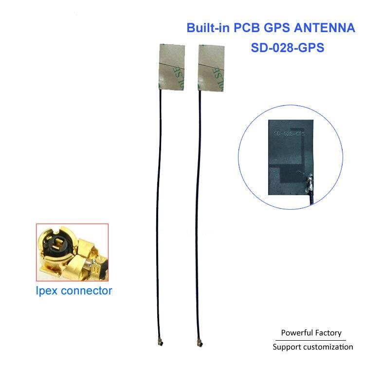 Низкая цена терминал PCB антенна 4dBi встроенные мягкие gps антенна оптом с клейкой лентой 3 м 10 шт./партия