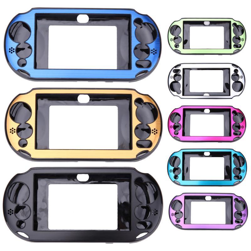 Carcasa de aluminio de 5 colores para Sony PlayStation PS Vita 2000 PSV PCH-20 Dropshipping