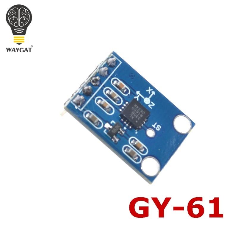 WAVGAT GY-61 3-5V ADXL335 Module 3-axis Analog Output Accelerometer Angular Transducer Module