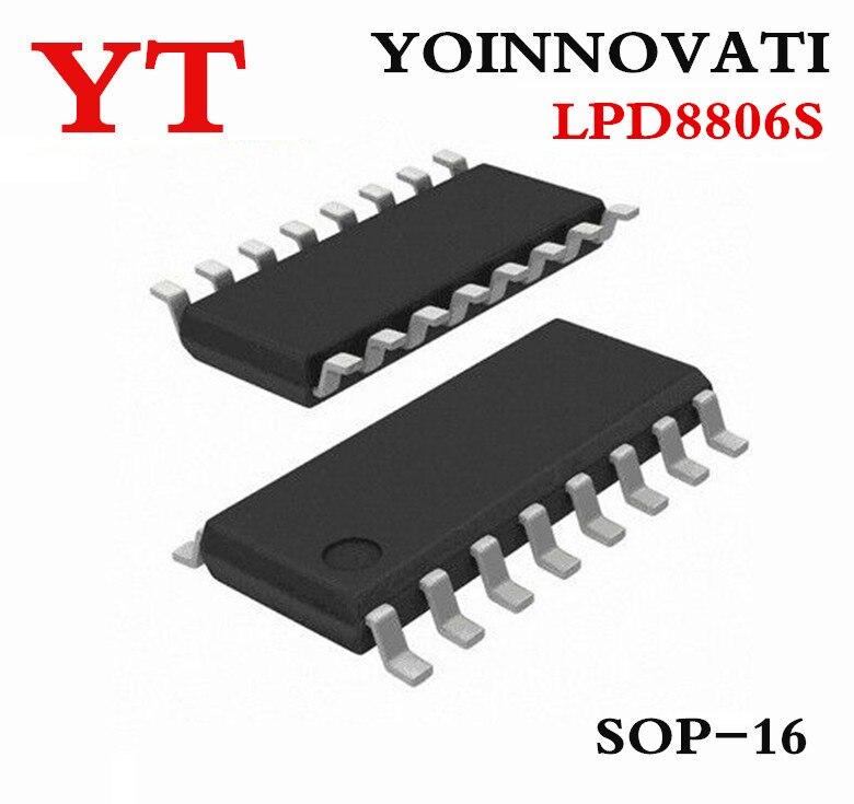 50PCS/LOT LPD8806 LED DRIVER IC (LPD8806S)