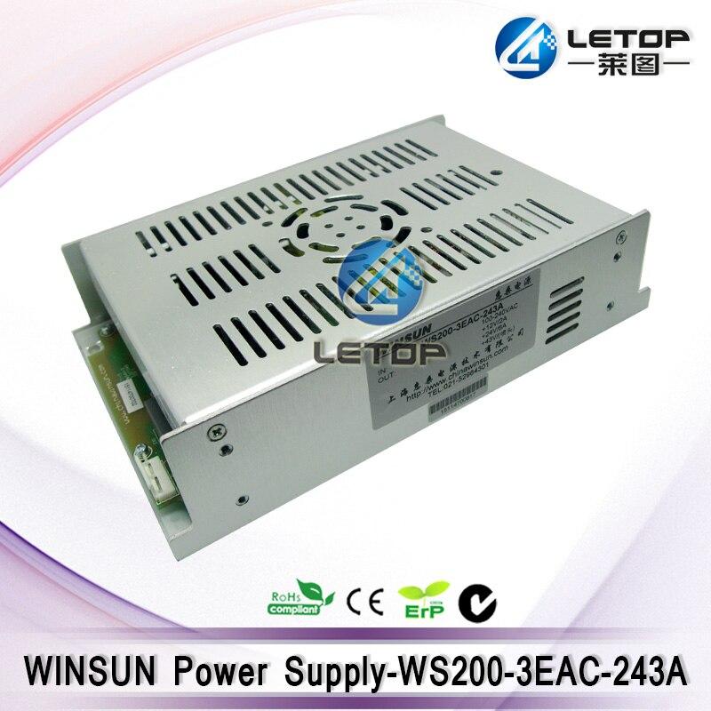 ¡Oferta! máquina de impresora al aire libre Winsun Power Supply-WS200-3EAC-243A