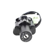 For Yamaha XJR400 1993-1999 94 95 96 XJR1200 1995-1998 96 XJR1300 1999 Moto Motorcycle Ignition Switch Lock Set 2 Master Keys
