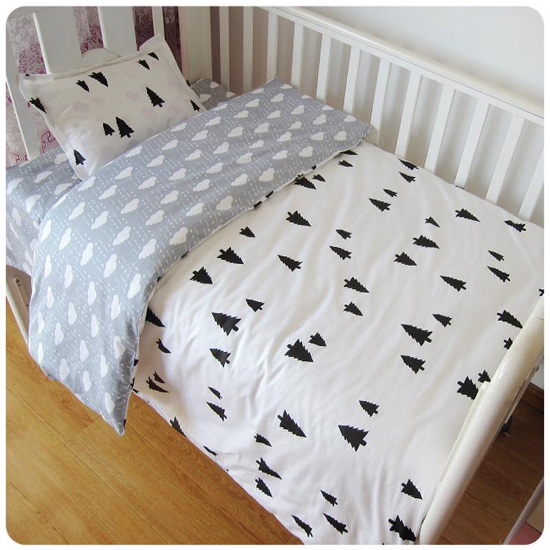 Kolmeosaline voodipesukomplekt lastele