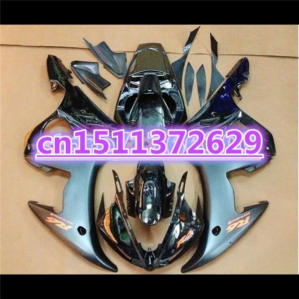 100% جديد هدية هيكل السيارة ل YZF R6 2003 2004 2005 YZF-R6 03 04 05 الأزرق الأسود YZFR6 600 03-05 هدية كيت