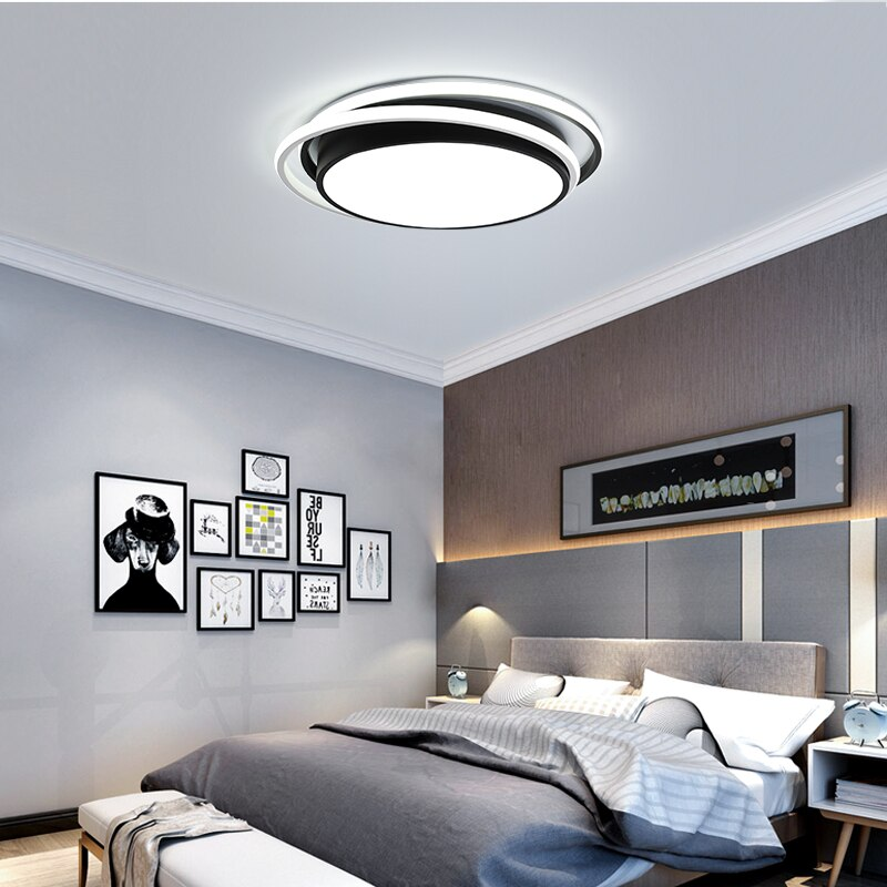 BWART-مصباح سقف LED بتصميم حديث مع جهاز تحكم عن بعد ، إضاءة داخلية ، إضاءة سقف ، لغرفة المعيشة ، غرفة الأطفال ، غرفة النوم ، ZY147