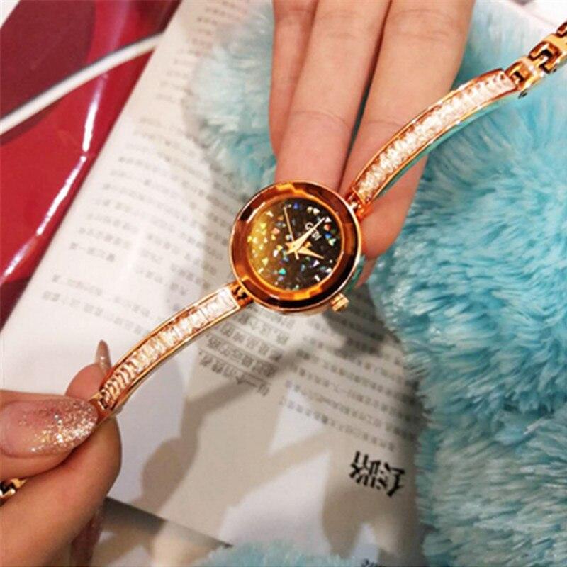 Nuevos relojes de moda con incrustaciones de diamantes para mujer, relojes de la mejor marca, reloj de pulsera de moda, reloj de cuarzo salvaje, reloj elegante de lujo
