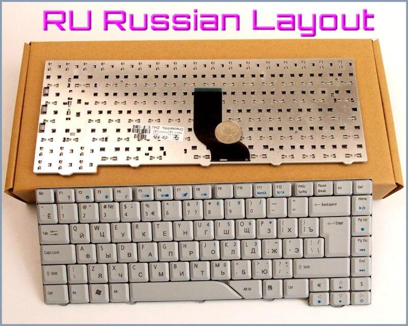 Nuevo teclado versión rusa RU para Acer Aspire 5730 5730Z 5715 5715Z 5715ZG 5710 5710G 5710Z 5710ZG 4910 Laptop gris