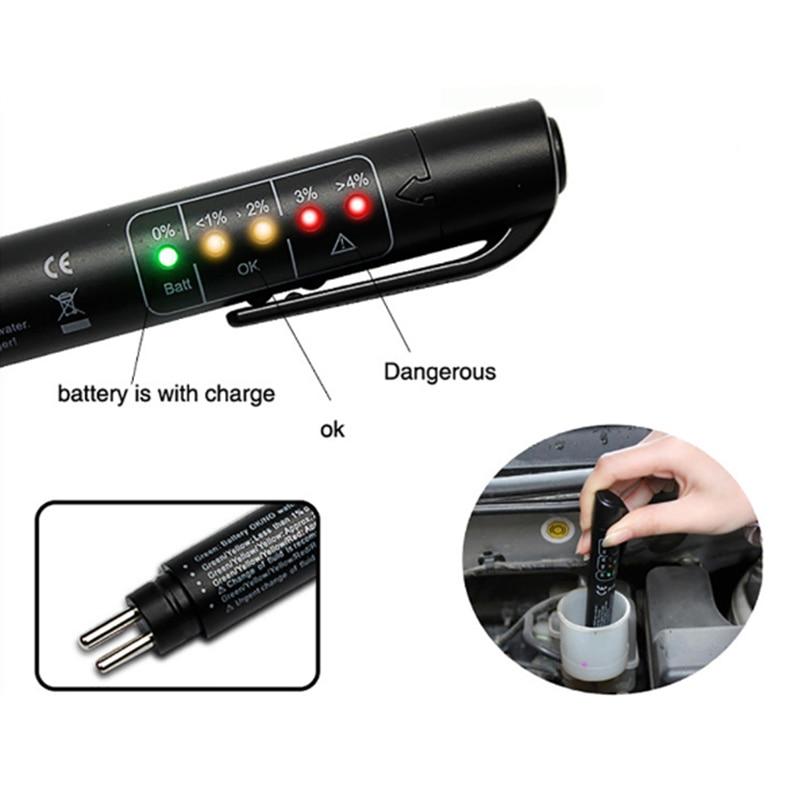 Probador Digital de líquido de frenos para coche, pluma para Chevrolet Cruze Aveo Lacetti Captiva Cruze Niva Spark Orlando Epica Sail