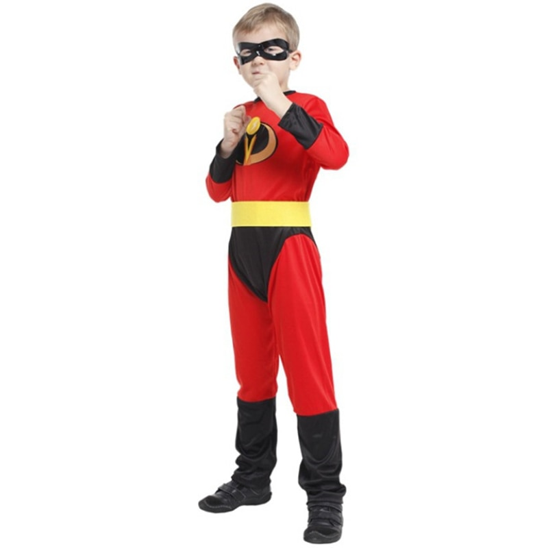 ¡Novedad de 2019! disfraz de Halloween para niños, disfraz increíble de Sr. Mono para niño Dash, disfraz de superhéroe para niños, disfraz de Navidad