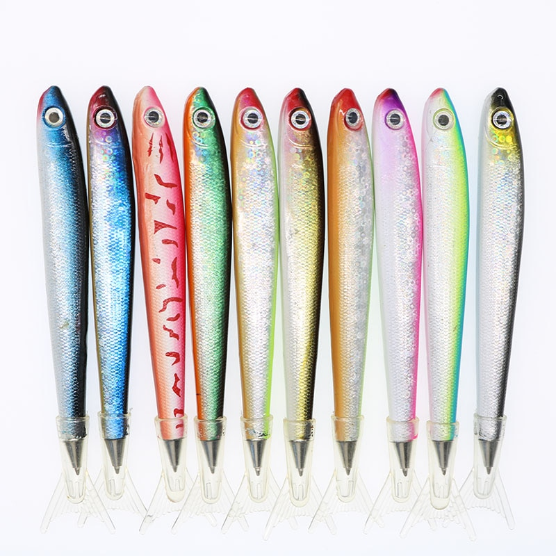 2pc Creative Marine Fish Ballpoint Pen Business Office Signature ChildrenS Student Gift Stationery (Random Color)