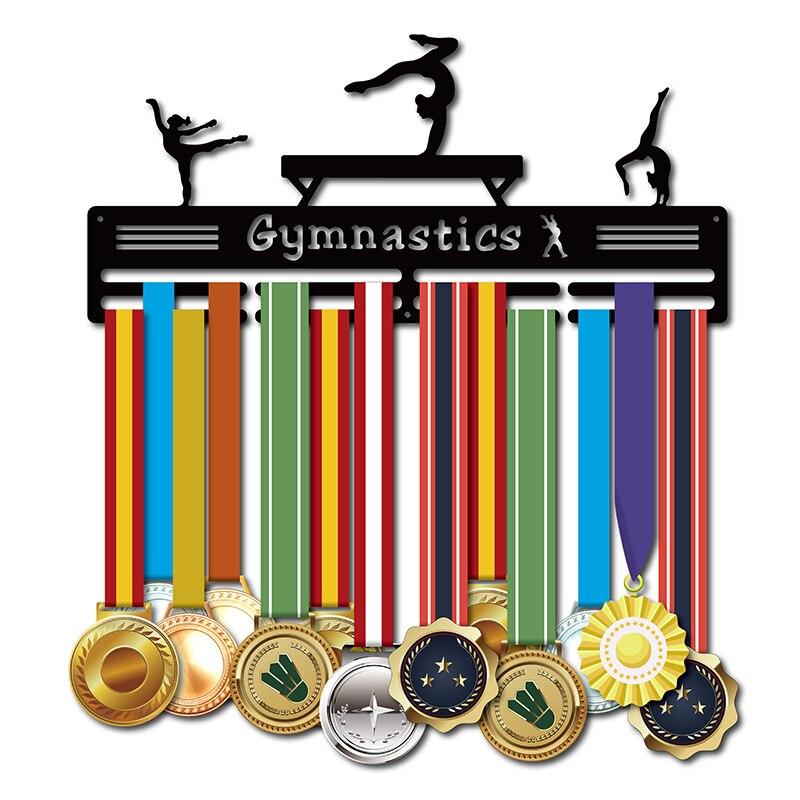 Colgante de medalla DDJOPH para gimnasta, colgante para medalla deportiva, soporte para medalla de gimnasia