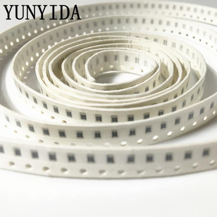 100 unids/lote resistencia SMD de tipo Chip 0805, 680 K 750 K 820 K 910 K 1 M ohm 5%