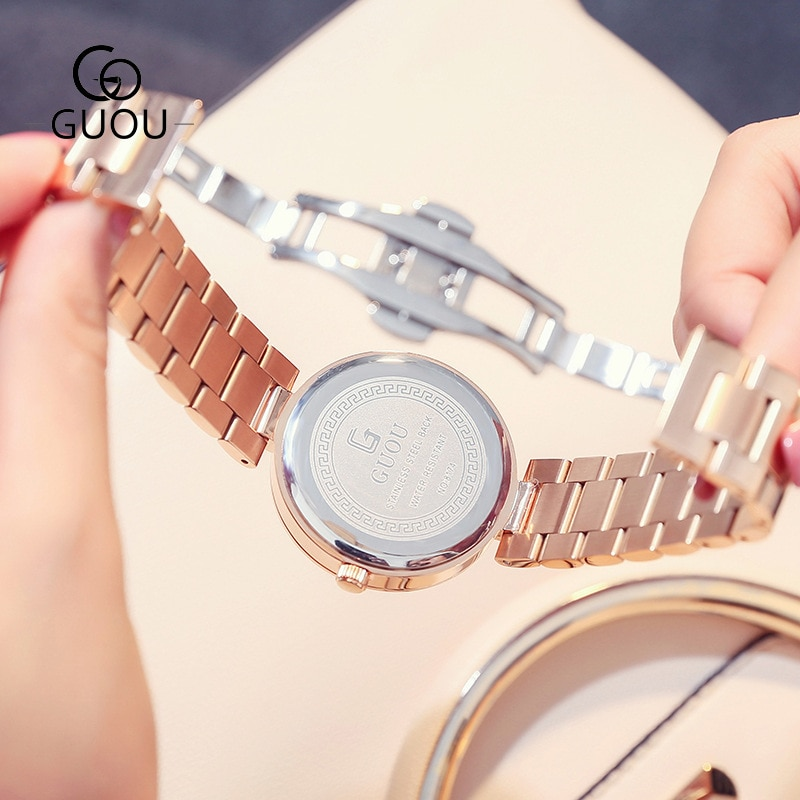 New Luxury Women Watches Women Fashion Bracelet Watch Quartz Wrist Watch For Women Top Brand Gold Ladies Casual Watch Clock 2018 enlarge