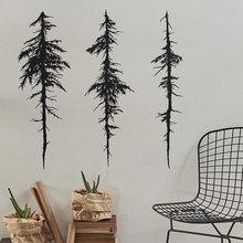 Baum Wand Decals - Halloween Decor, Moderne Vinyl Aufkleber, Einzigartige Geschenk Idee, Wohnkultur, tinte Malerei Wand Kunst Wasserdichte LR33