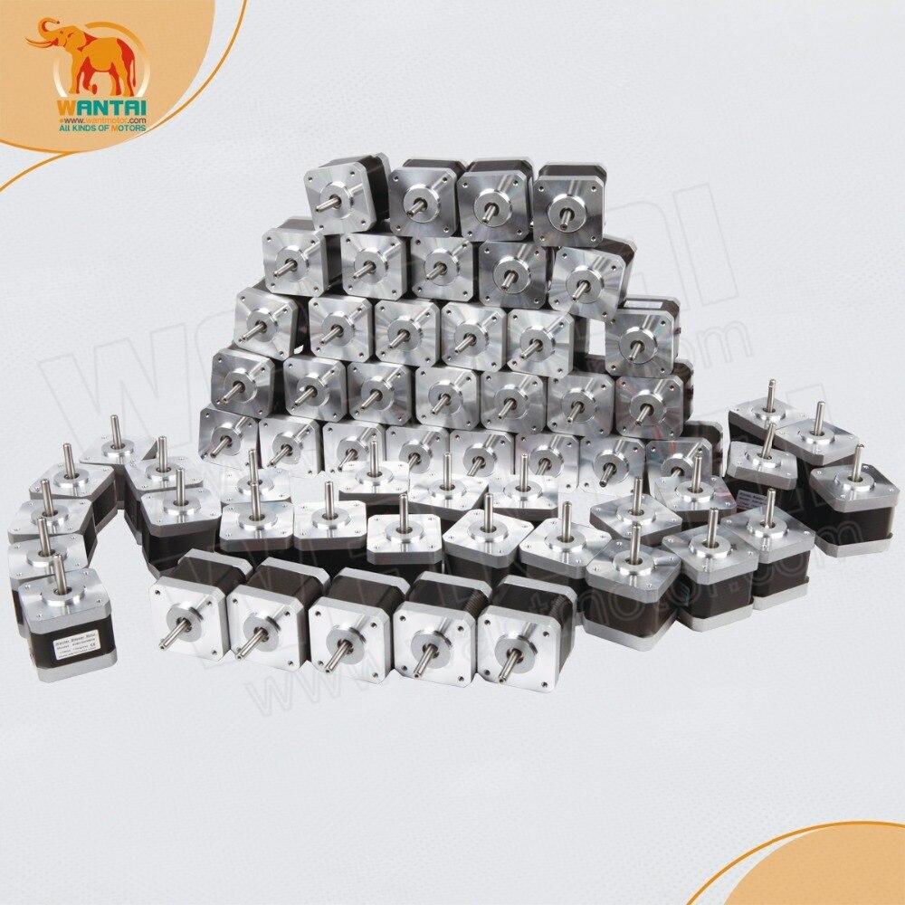 طابعة 3D Reprap Makebot, روبوت ، 60 قطعة ، Wantai 42BYGHW610 ، Nema 17 Stepper Motor 5000g.cm ، 1A CNC