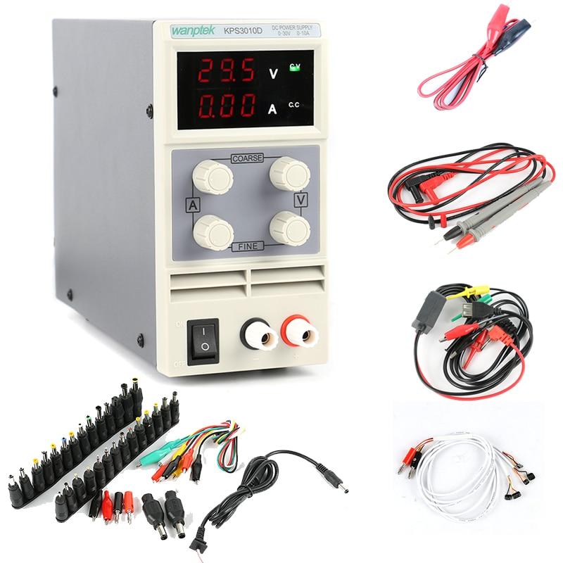 3010d 30v 10a digital regulamentado dc comutacao da fonte de alimentacao 01v poder