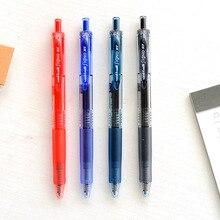 4 قطعة ميتسوبيشي UMN-105 حبر قلم للرجال انقر نوع الكلاسيكية مكتب قلم توقيع خاص امتحان القلم قلم خاص للطلاب لوازم